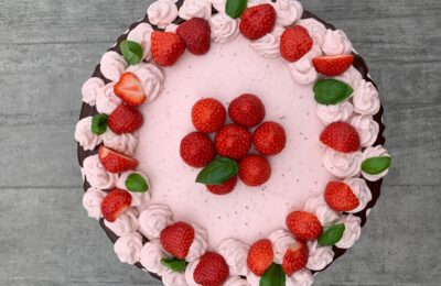 Franzis Erdbeer-Torte