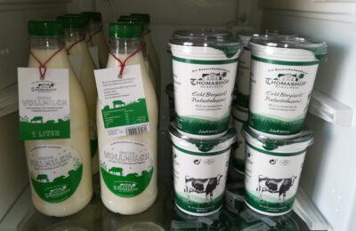 Milch und Joghurt Thomashof
